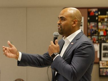 Rep. Colin Allred, D-Dallas, announced on Friday that he will vote to impeach President Donald Trump. (Brian Elledge/The Dallas Morning News)