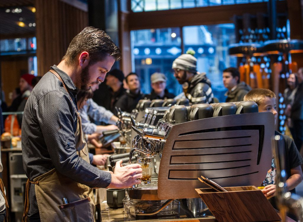 Starbucks Reserve is designed to interest coffee drinkers who care where their coffee is sourced. Some of the special coffees at the coming-soon Dallas Starbucks Reserve might include nitro cold brew.