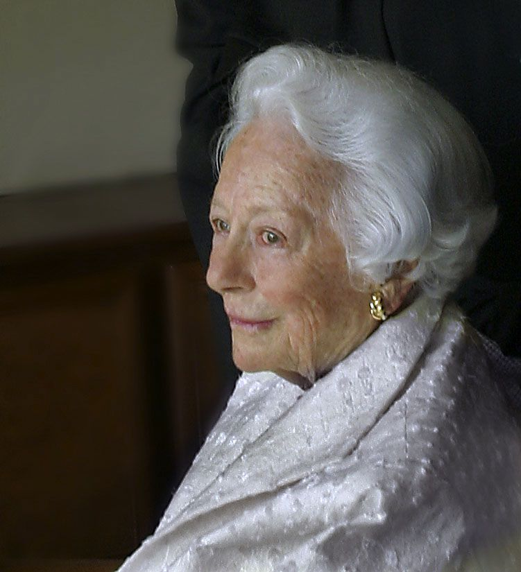 Margaret McDermott at her home in 2004.