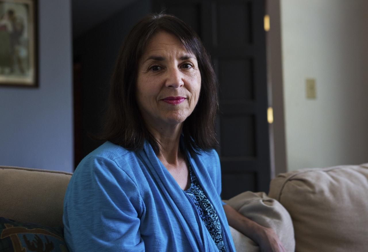 Janice Eiler, 58, whose husband died two years ago, is struggling to save so she can retire in a decade. The household income for widows typically declines 37 percent after a spouse dies, according to government figures.