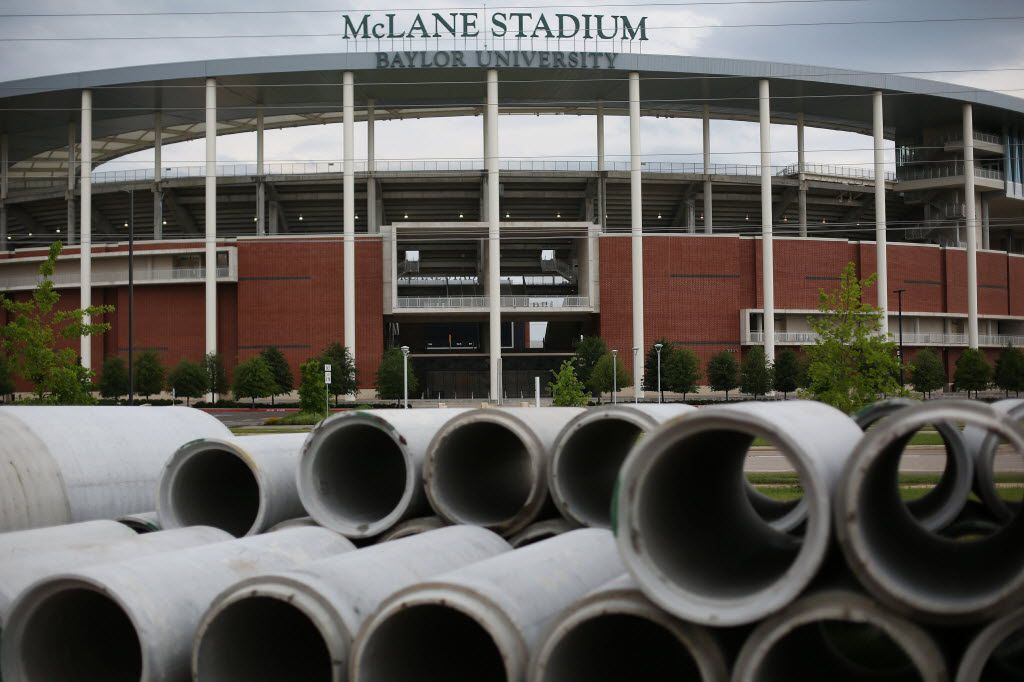 McLane Stadium on the campus of Baylor University in Waco, Texas Thursday May 26, 2016. On May 26 the Baylor University Board of Regents announced after a sexual assault investigation that university president Ken Starr will transition to the role of Chancellor and remains professor at Baylor University Law School and head football coach Art Briles will be suspended with intent to terminate. (Andy Jacobsohn/The Dallas Morning News)