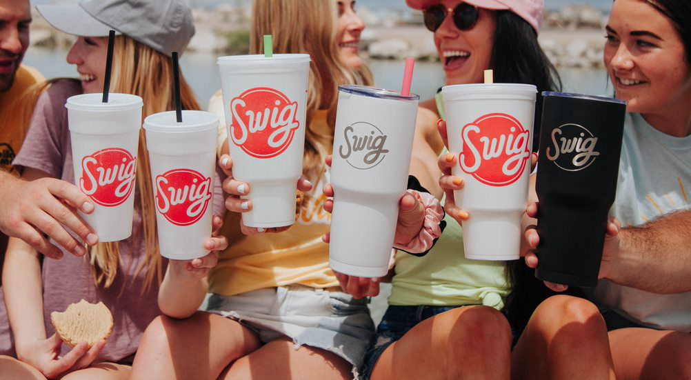 Swig, a Utah-based soda and sweets drive-thru chain, is starting its expansion east with a new location in Fairview, Texas.