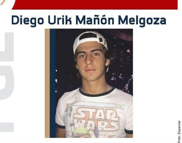 Diego Urik es señalado como el presunto responsable del homicidio de Jessica González Villaseñor.