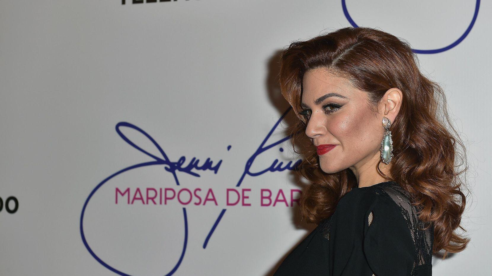 "Angélica Celaya protagoniza la serie ""Jenni Rivera: Mariposa de Barrio"". (Getty Images/Gustavo Caballero)"