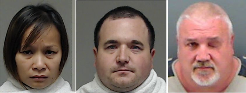 Chansamorn Pokai, Stephen Brockway and Ronald Rosser have each been indicted on a charge of capital murder by remuneration in the death of Richard Moore in February in McKinney.