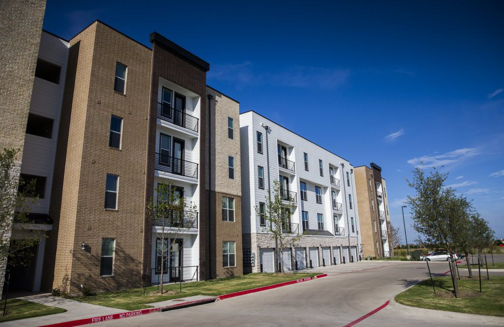 Millennium apartments on July 21, 2015 in McKinney.  The complex on the city's west side has reserved units for low-income residents. This week, a majority of McKinney council members voted down a developer's application for a low-income housing tax credit to help fund an affordable apartment complex similar to Millennium.