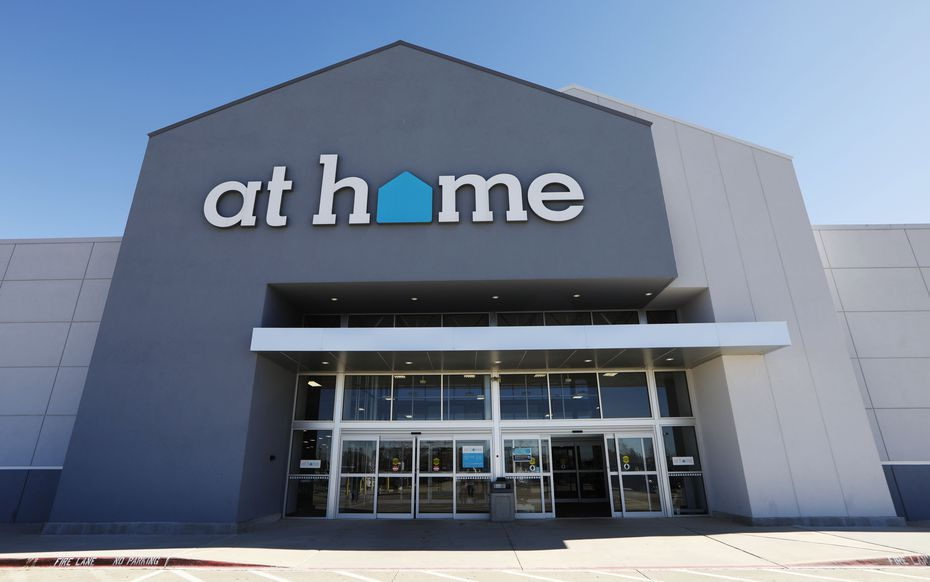 Exterior of At Home store.