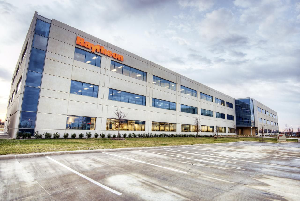 Raytheon operates several facilities in North Texas, including this 500,000-square-foot, three-building office campus in the CityLine development on the Bush Turnpike in Richardson.
