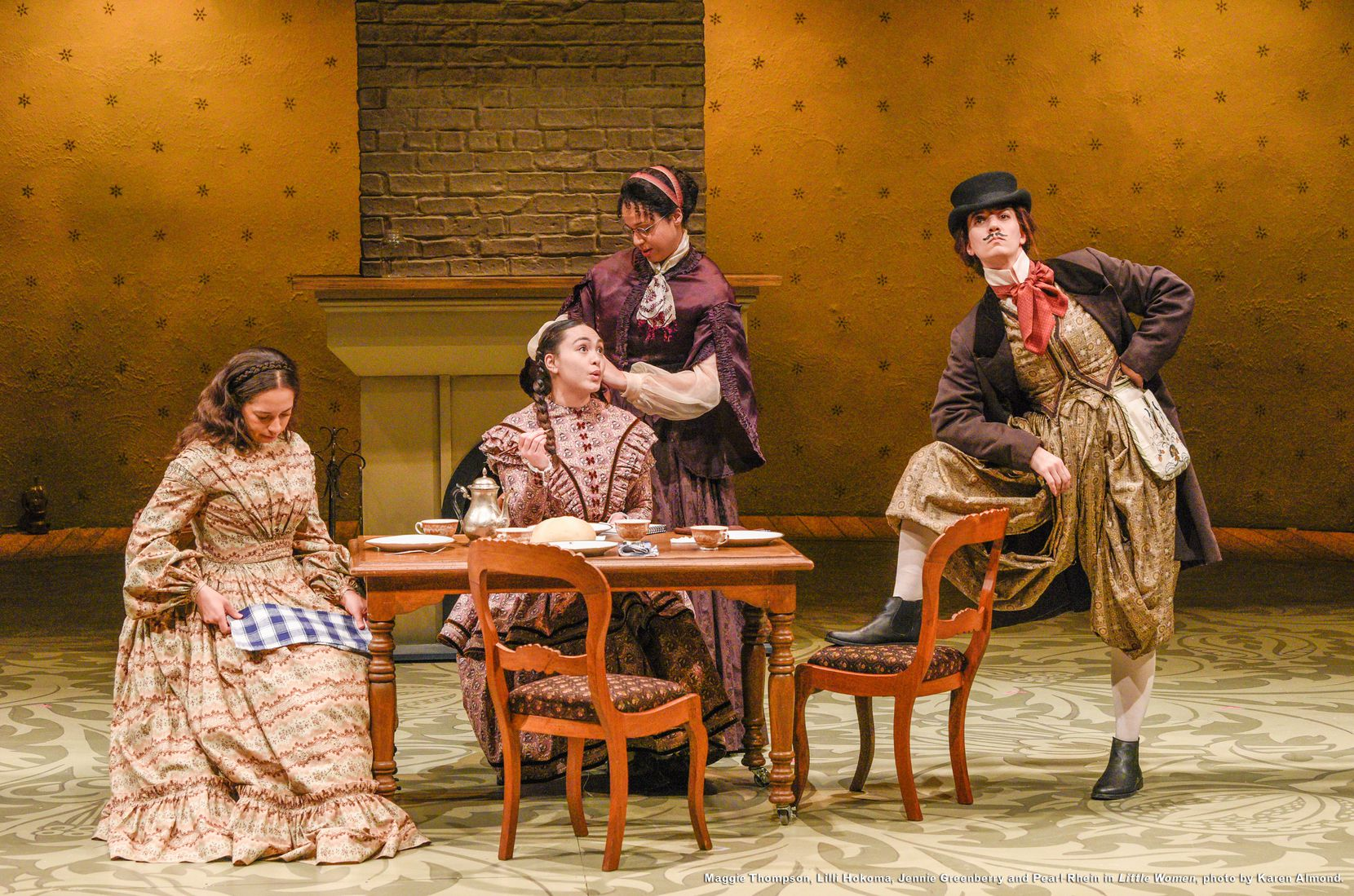 "Dallas Theater Center is producing a new adaptation of Louisa May Alcott's classic 19th century novel ""Little Women,"" written by Kate Hamill."