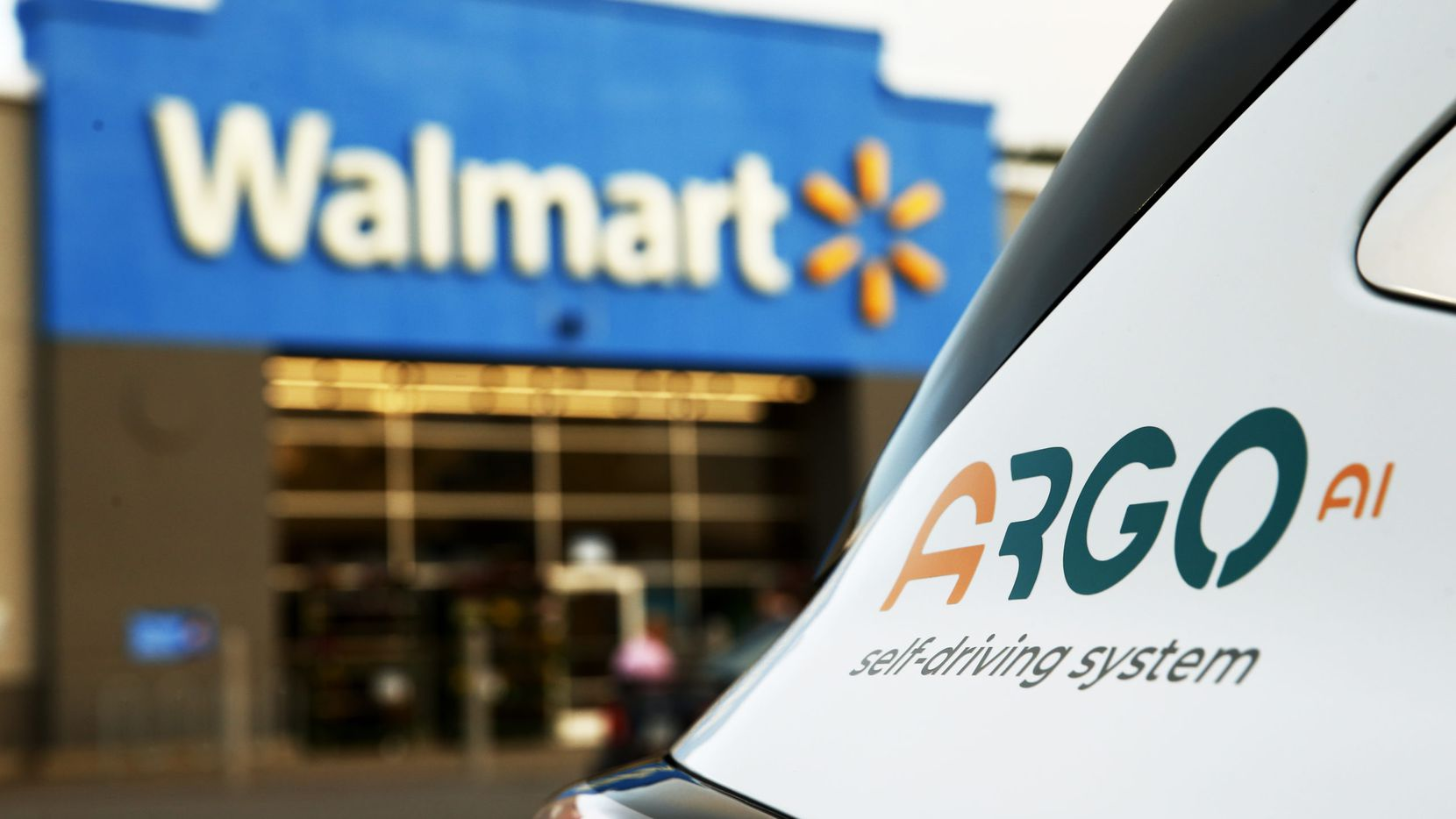 Self-driving startup Argo AI is teaming with Walmart and Ford on a driverless delivery service in three launch cities, including Austin.