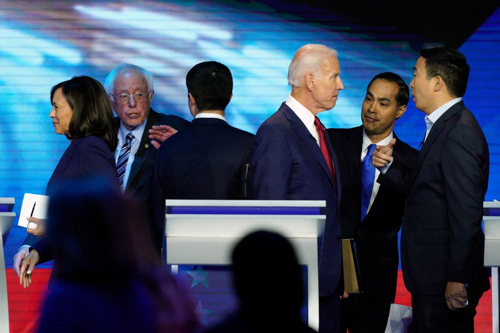 Rep. Vicente Gonzalez, D-McAllen, flipped his endorsement in the Democratic presidential race to Joe Biden from Julián Castro after the third Democratic debate. At that contest, Biden and Castro shared a sharp exchange. But Gonzalez said that wasn't a factor in his decision.