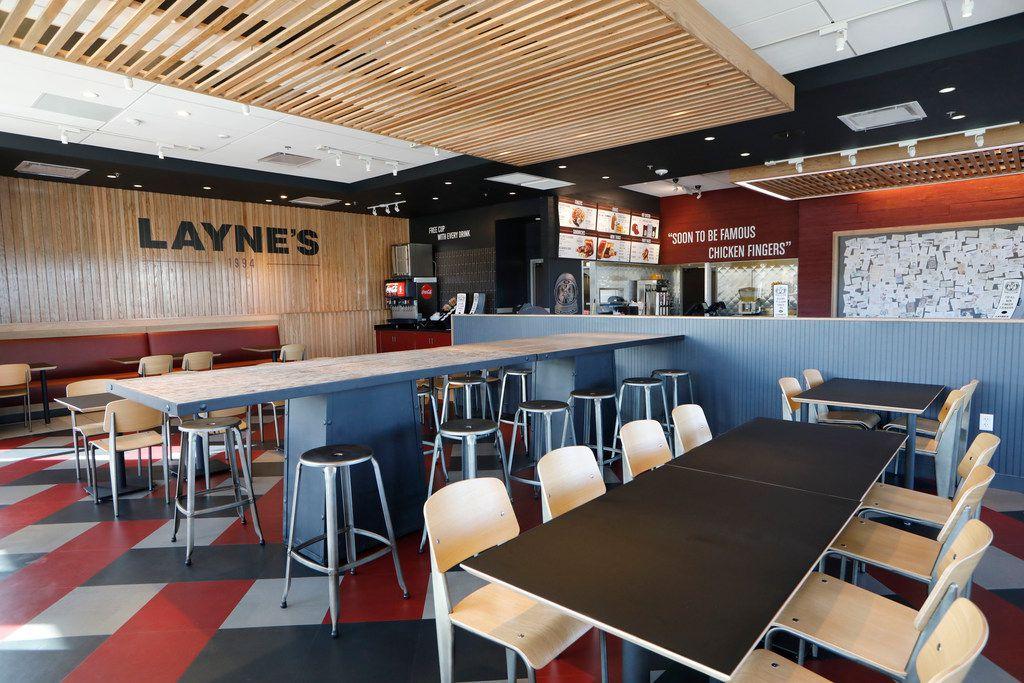 Layne's is now open in Allen.