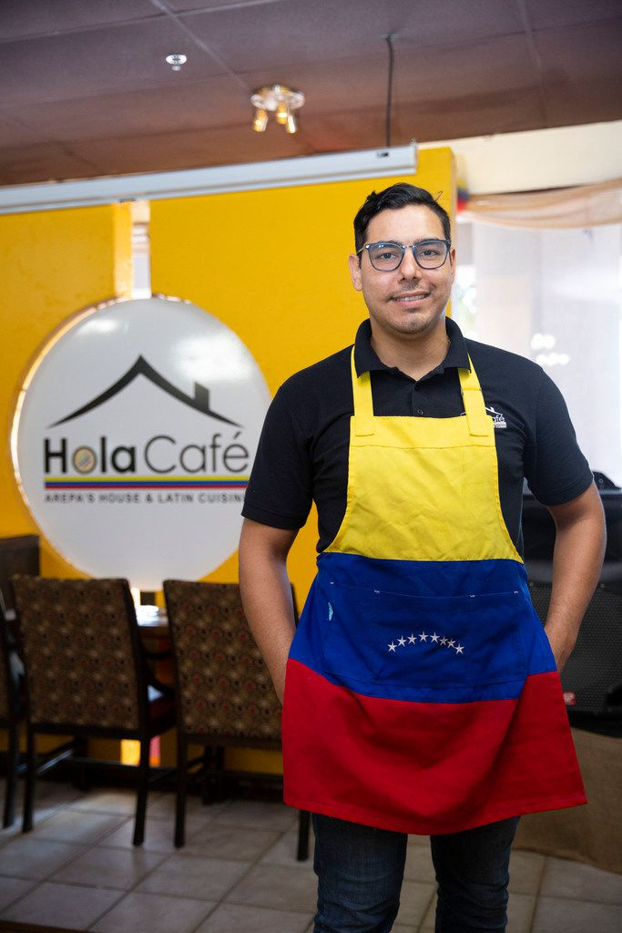Venezuelan native Euclides Romero is the owner of Hola Cafe in Carrollton, which offers arepas.