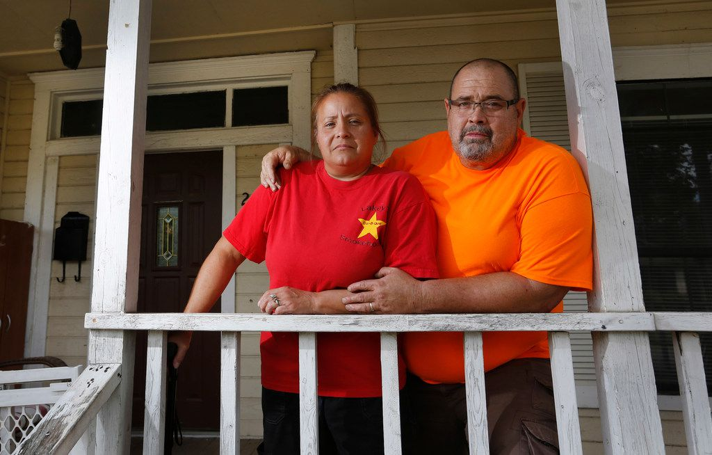 Robert and Laura Lakey, owners of the now-shuttered Lakey's Smokehouse restaurant in Pleasant Grove, say Caraway tried to shake them down for money after they sought his help. Thieves kept stripping their business of valuables.