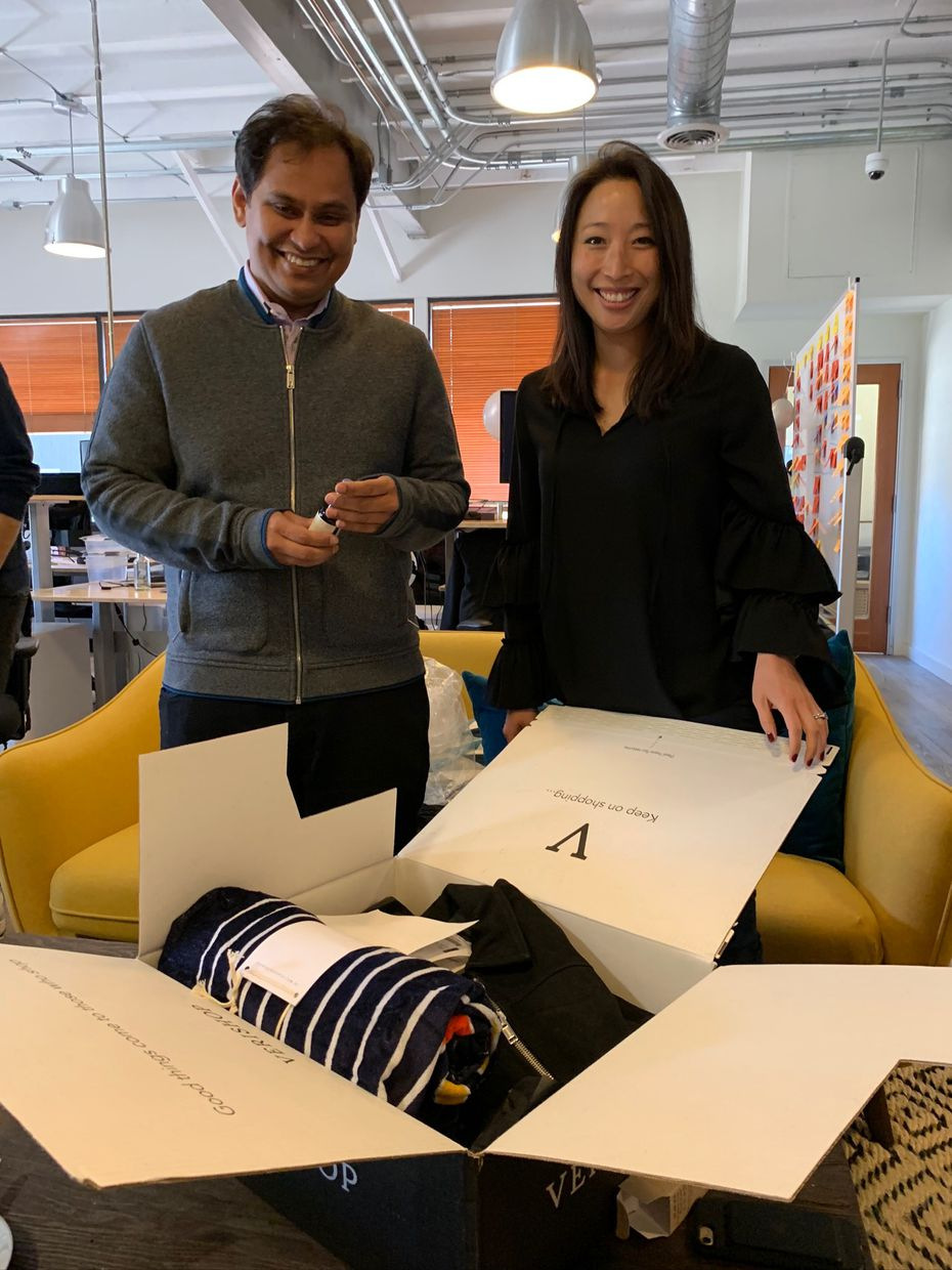 Imran Khan and Cate Khan, co-founders of Verishop, relocated to Dallas to open a third hub for their online department store.