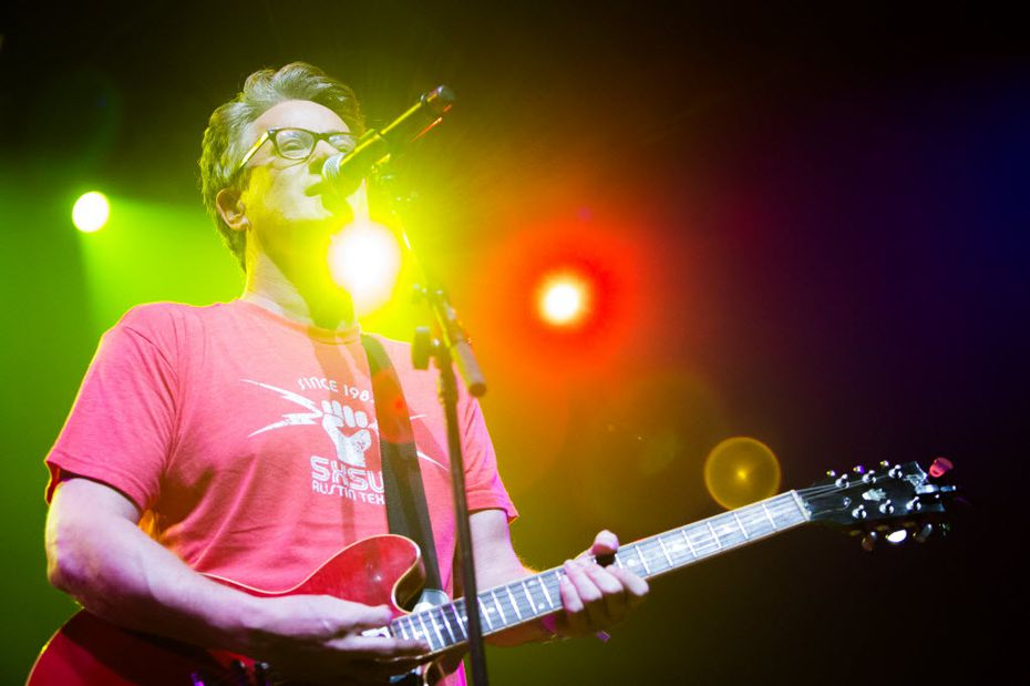 MSNBC Morning Joe host and political analyst Joe Scarborough performs with his band at ACL Live during SXSW in Austin, Texas on March 18, 2016. (Julia Robinson/Special Contributor)