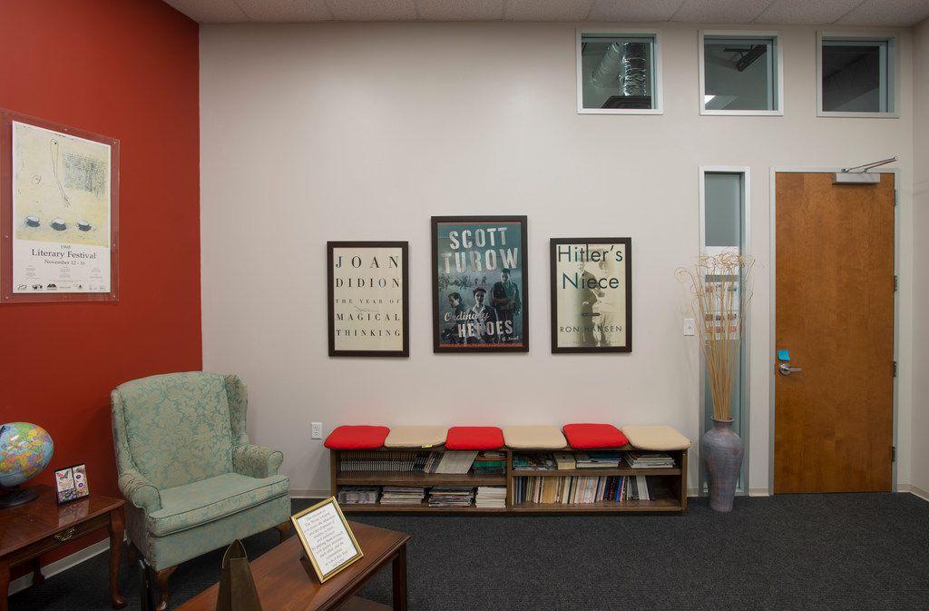 The Writer's Garret's space in the Metropolitan Press building in Dallas.