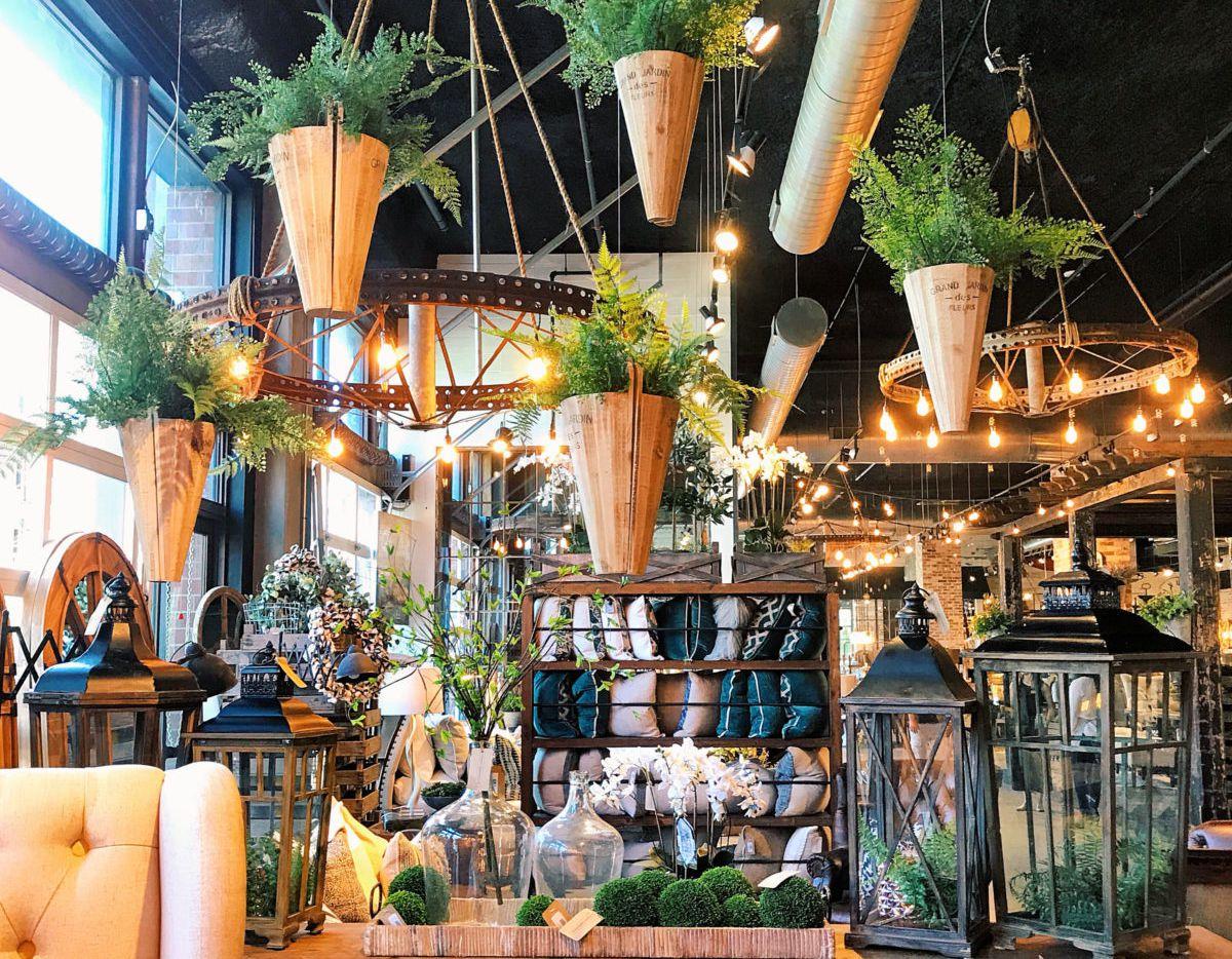 Urban Farmhouse Designs opened in June 2018 in the Dallas Farmers Market.