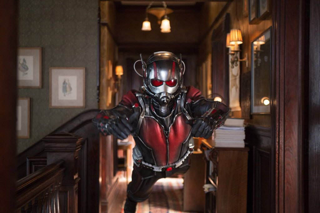 """Paul Rudd IS the Ant-Man in one of the better Marvel movies that make up the so-called """"Cinematic Universe."""" (Disney/Marvel)"""
