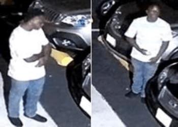 La policía difundió esta imagen de uno de los secuestradores. El otro se encuentra bajo cusotida.