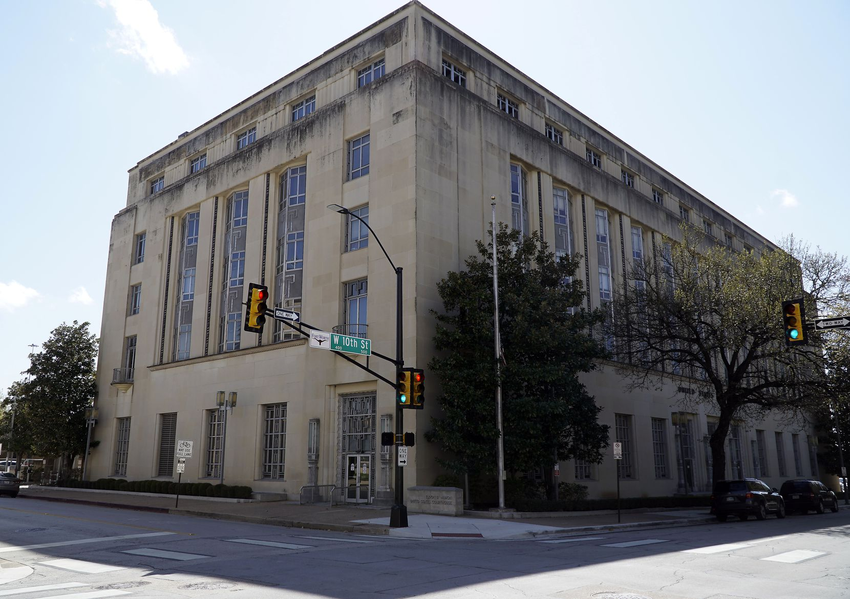 The Eldon B. Mahon United States Courthouse in Fort Worth, where a federal judge ordered terror suspect Seth Pendley held without bond until trial