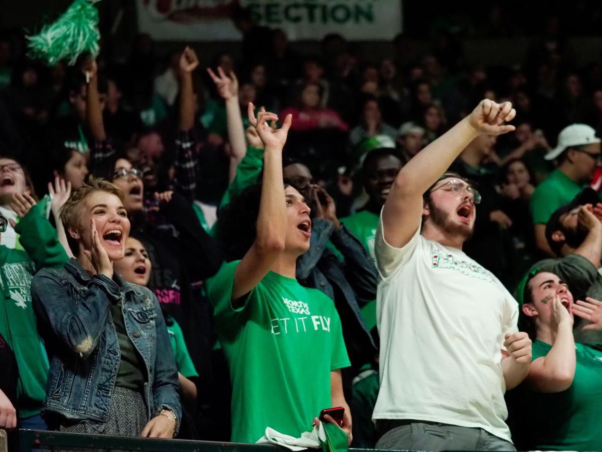 The North Texas women's basketball team rolled past Southern Miss on Friday at the Super Pit.