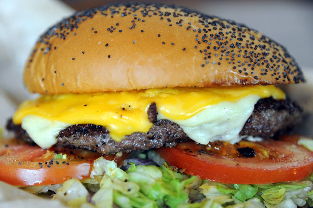 The American and Swiss cheeseburger at Snuffers.