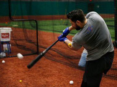 El jugador de los Texas Rangers, Joey Gallo, está listo para retomar los trabajos de preparación rumbo a la temporada 2020 de Grandes Ligas.