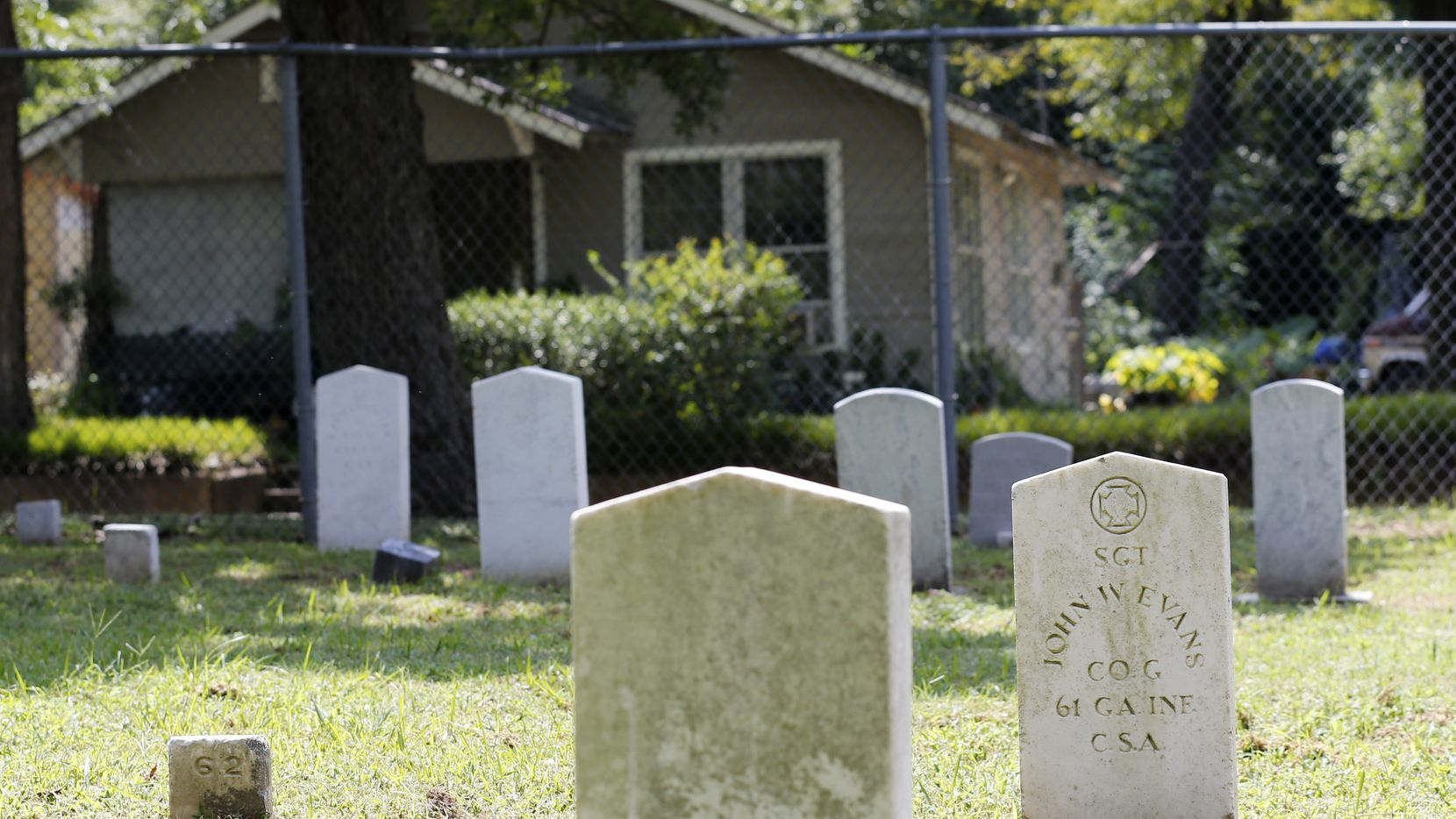For decades, a Confederate Cemetery has existed on Electra Street, in the middle of a largely Black neighborhood in South Dallas.