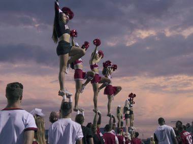 'Cheer' is a docuseries from Netflix featuring the cheerleaders of Navarro College.
