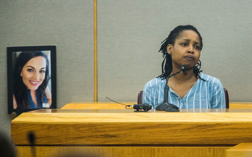 Meisha Beasley, sister of Kristopher Love, testified Tuesday during the punishment phase of his trial.