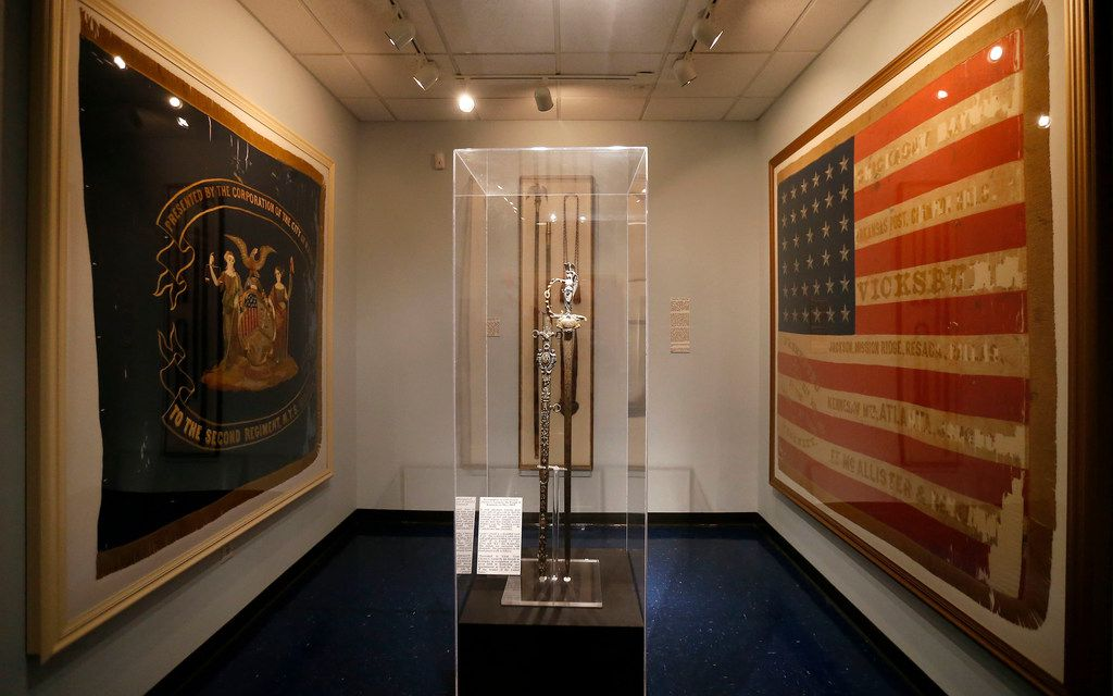 A sword given to Gen. Ulysses S. Grant by the people of Kentucky in May 1864 is on display at Texas Civil War Museum.