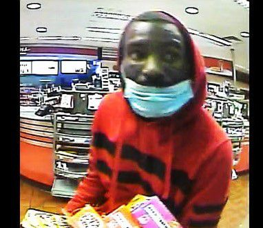 DeSoto police are asking for the public's help to identify this man, seen in a still from surveillance footage captured at a convenience store on Jan. 6.