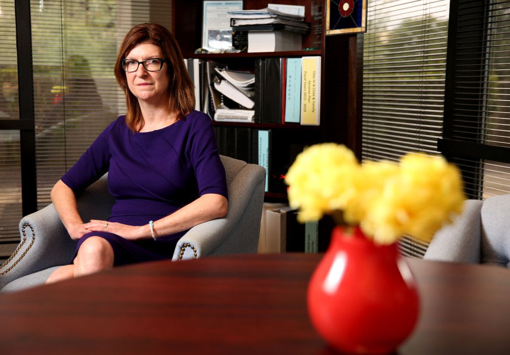 """Kristene Blackstone, associate state protective services commissioner, says Child Protective Services officials are """"working around the clock"""" to encourage private providers to increase foster-care capacity in Texas. Meanwhile, the quality of CPS investigations in Dallas """"has come a long way,"""" though """"there's always room for improvement,"""" she says."""