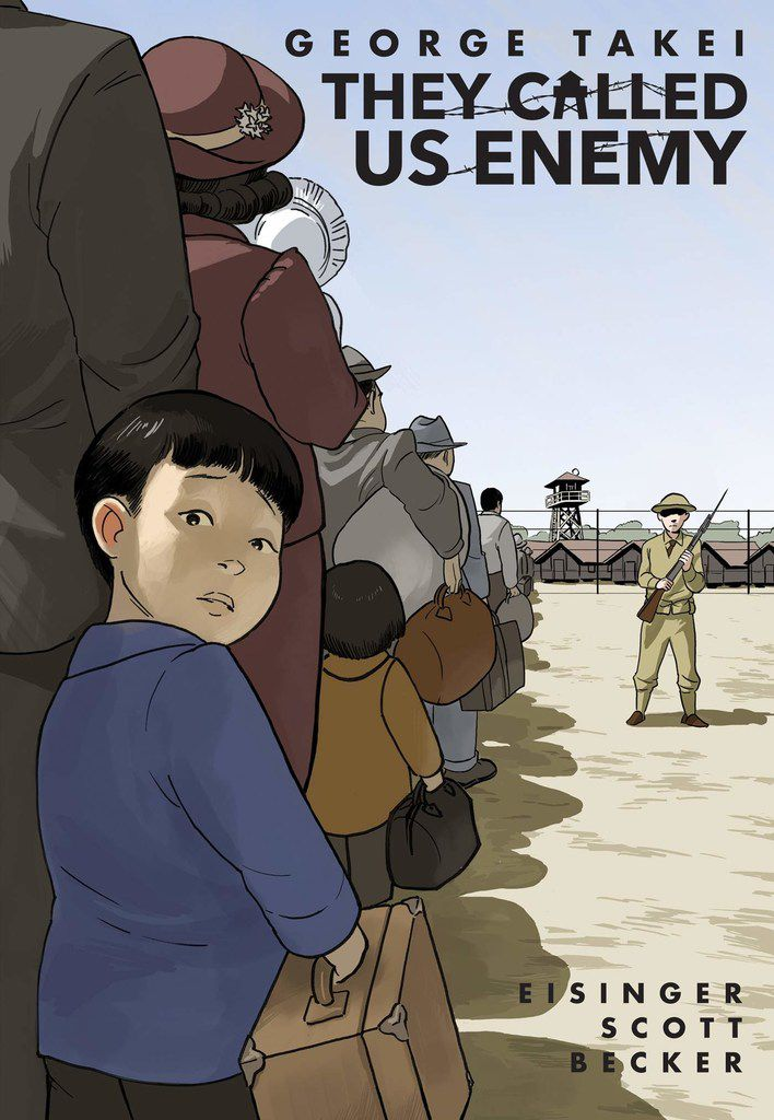 They Called Us Enemy by George Takei, Justin Eisinger, Steven Scott and Harmony Becker revisits Takei's childhood years in an American internment camp.
