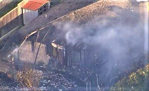 Plano firefighters battled a fire at this house late Friday afternoon.