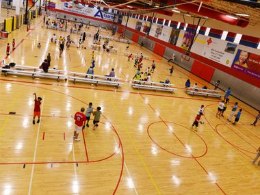 In this 2013 file photo, kids practice at Plano Sports Authority, a nonprofit that provides year-round recreational sports leagues to boys and girls in Plano ISD and surrounding areas.