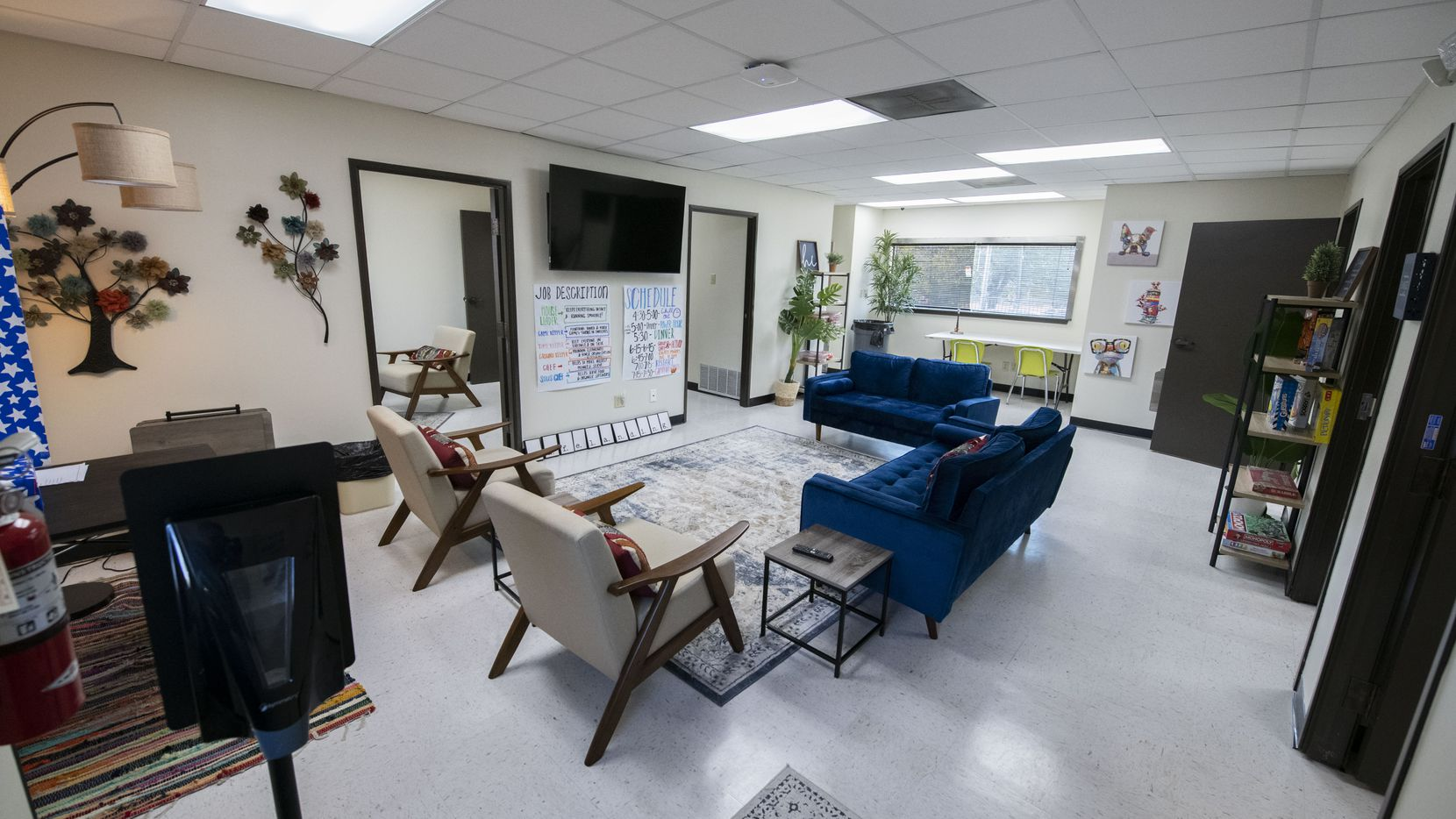 Mesquite ISD converted an empty bank building into an after-school program.