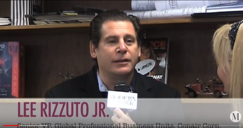Screen grab from Modern Salon interview with Leandro Rizzuto Jr. in April 2011.