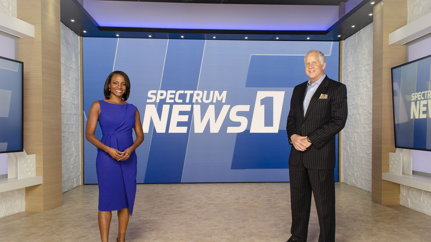 """Your Evening on Spectrum News 1"" co-anchors Dr. Nicole Cross (left) and Brett Shipp. Spectrum is expanding its news coverage to North Texas."