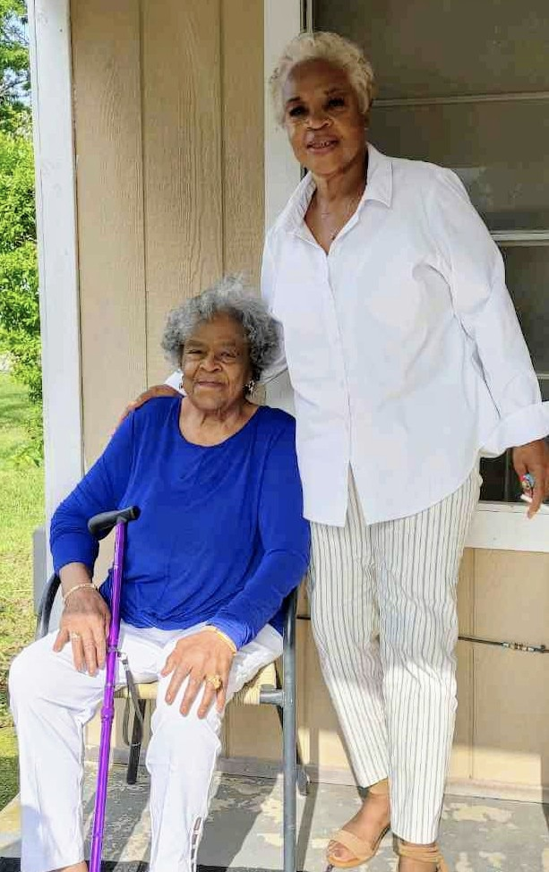 Anita Thompson and her daughter, Oletha Morrow.