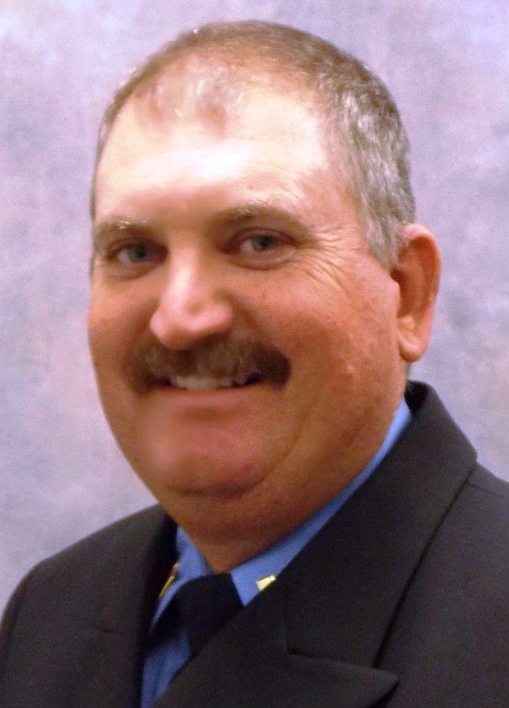 Robert Gideon, 50, has spent his entire firefighting career with Duncanville.