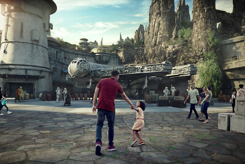 Star Wars: Galaxy's Edge will open May 31 at Disneyland Park in Anaheim, Calif., and Aug. 29 at Disney's Hollywood Studios in Lake Buena Vista, Fla.