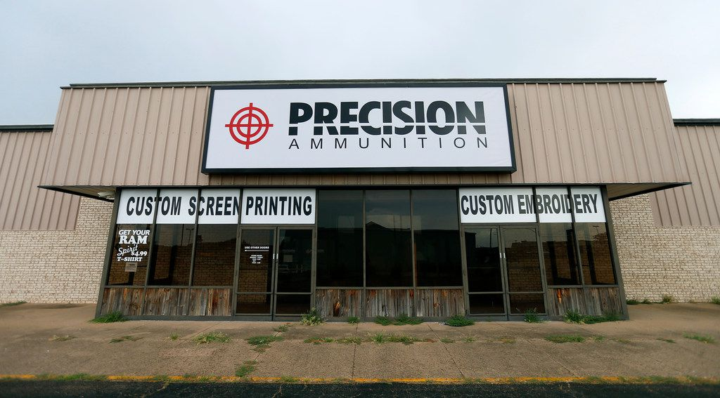 The front of the American Precision Ammunition office in Mineral Wells.