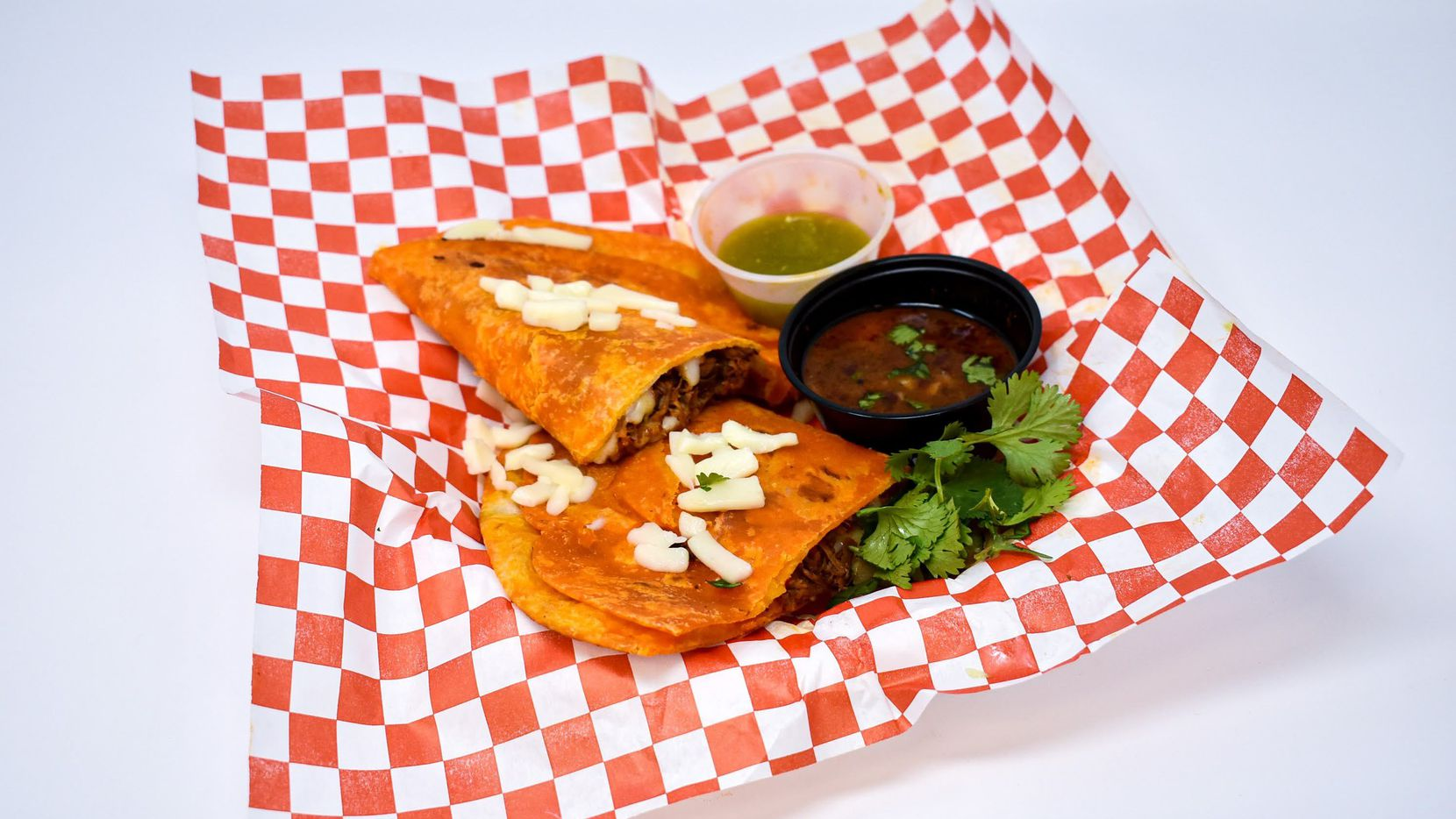 Quesabirria is one of the new menu item at the State Fair of Texas in 2021. Take our quiz to find out which State Fair food is best for you.