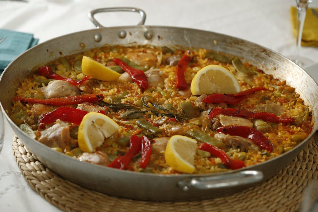 Paella Valenciana is pictured in this file photo.