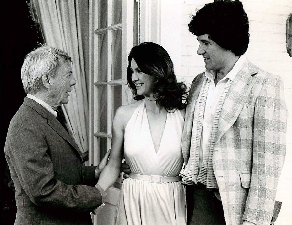 In the final episode of Dallas' first season, Digger Barnes (David Wayne) comes to Southfork to see his daughter, Pam (Victoria Principal), and his new son-in-law, Bobby Ewing (Patrick Duffy).
