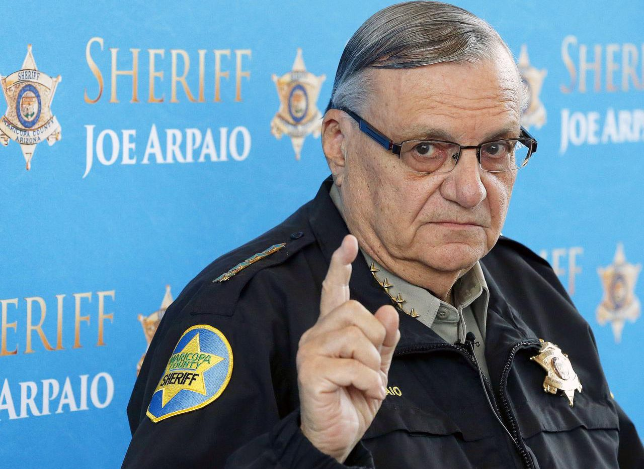 El polémico sheriff Joe Arpaio. (ROSS D. FRANKLIN/AP)