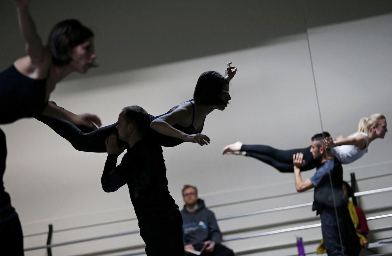 Choreographer Joshua Peugh will premiere You and Me during Dark Circles Contemporary Dance performances at Texas Christian University, which start Thursday.