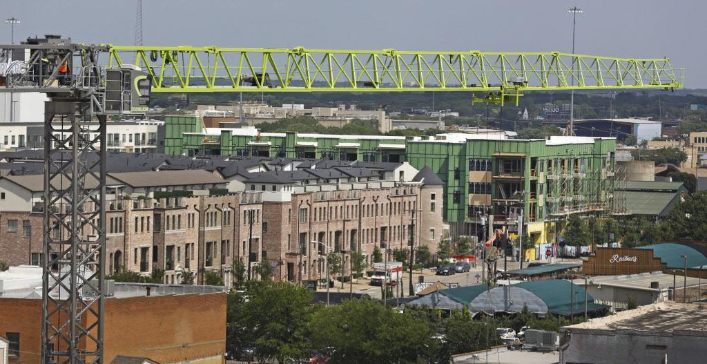 Dallas desplazó a Houston como la ciudad con mayor construcción de viviendas. LOUIS DeLUCA/DMN